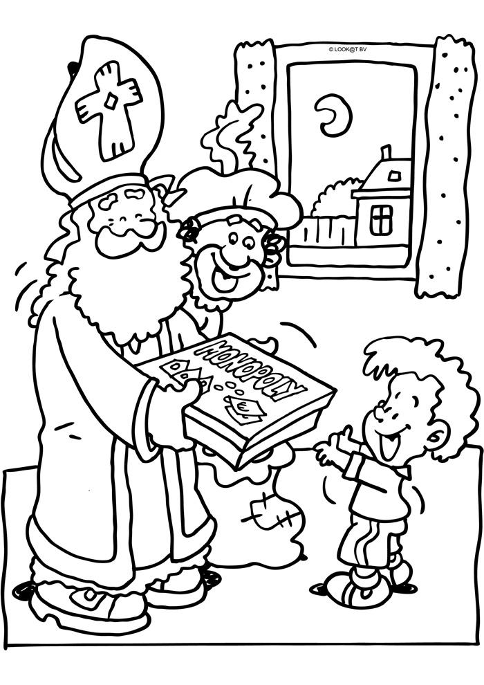 Zappelin Sinterklaas Kleurplaat Sinterklaas Spelletjes