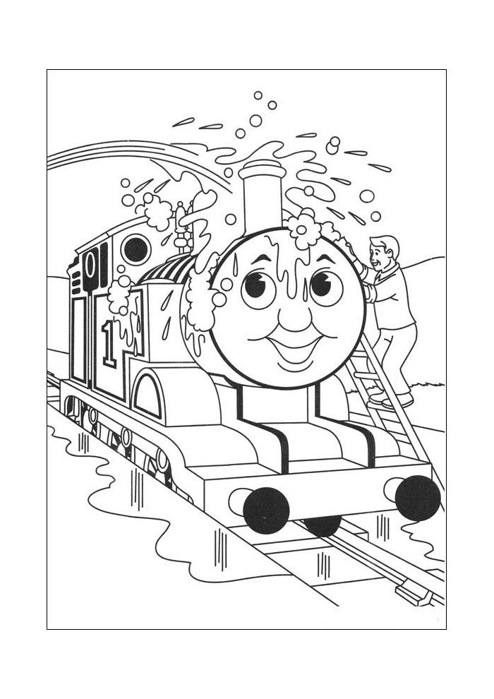 thomas de trein wassen