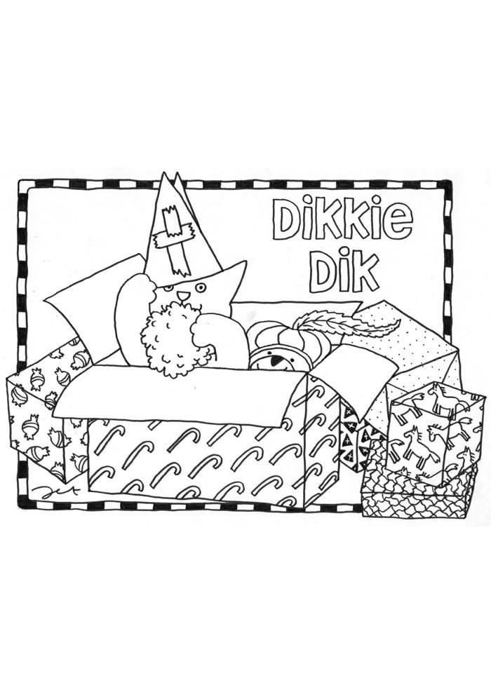 Dikkie Dik in de doos