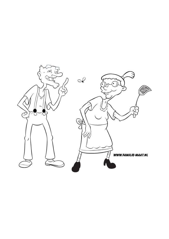 Hey Arnold opa en oma
