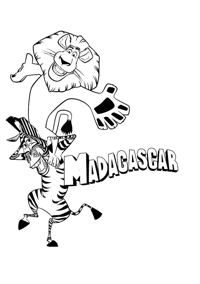 Madagascar helemaal happy