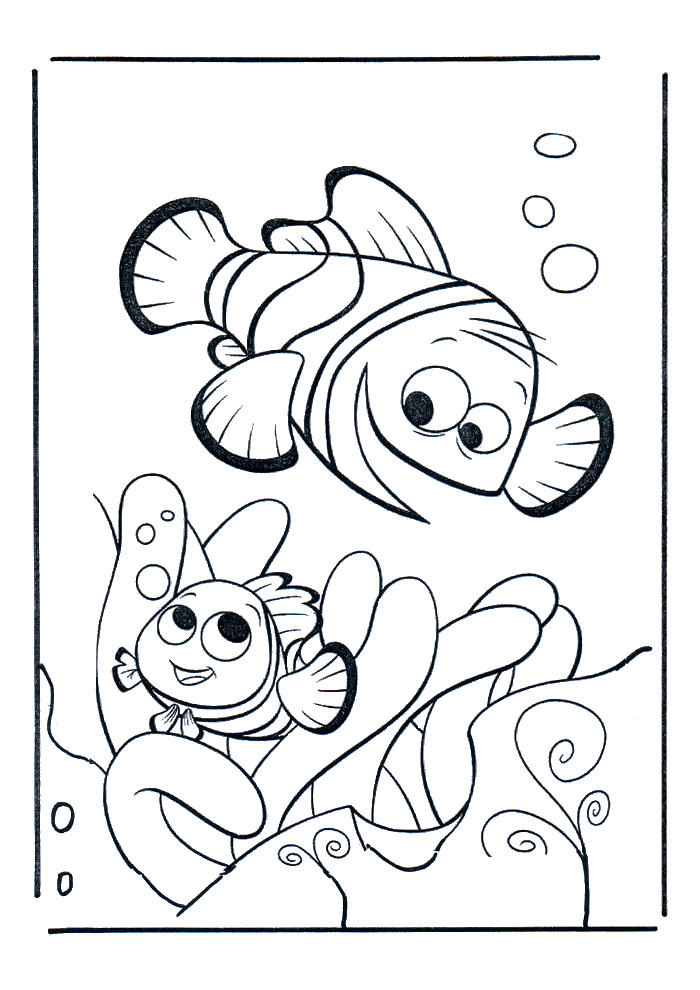 Nemo samen met een vriendje