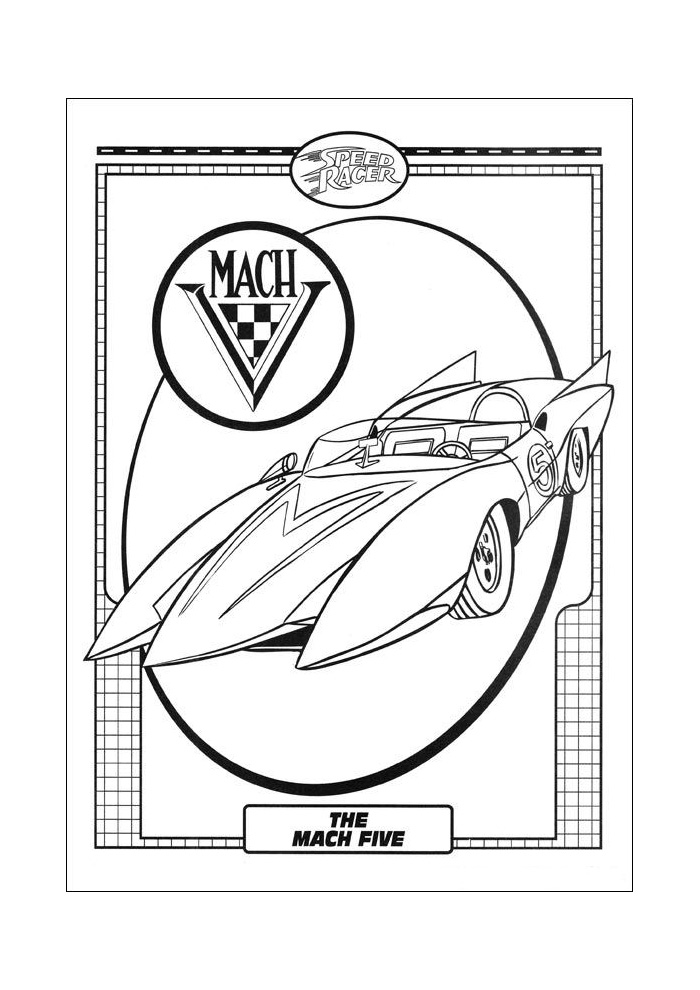 Racer Speed Racer the mach five