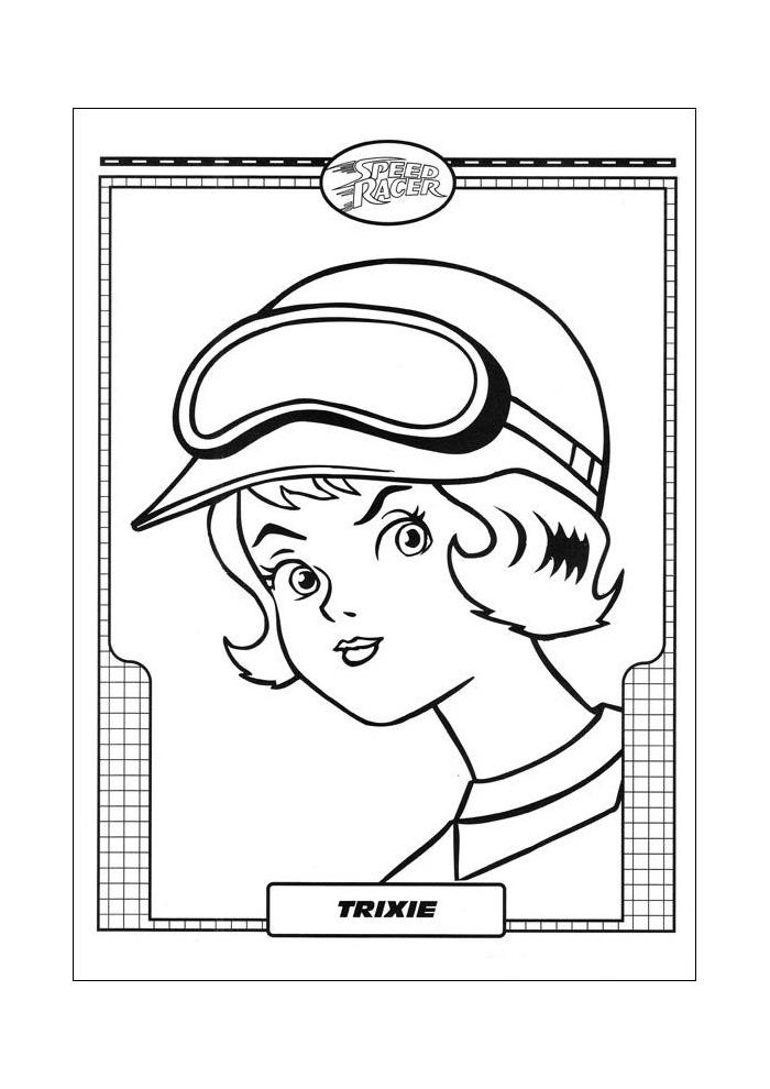 Racer Speed Racer trixie met hoed