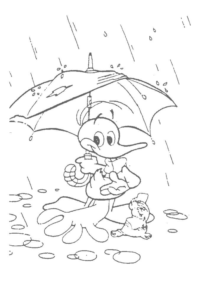 Alfred J Kwak - in de regen