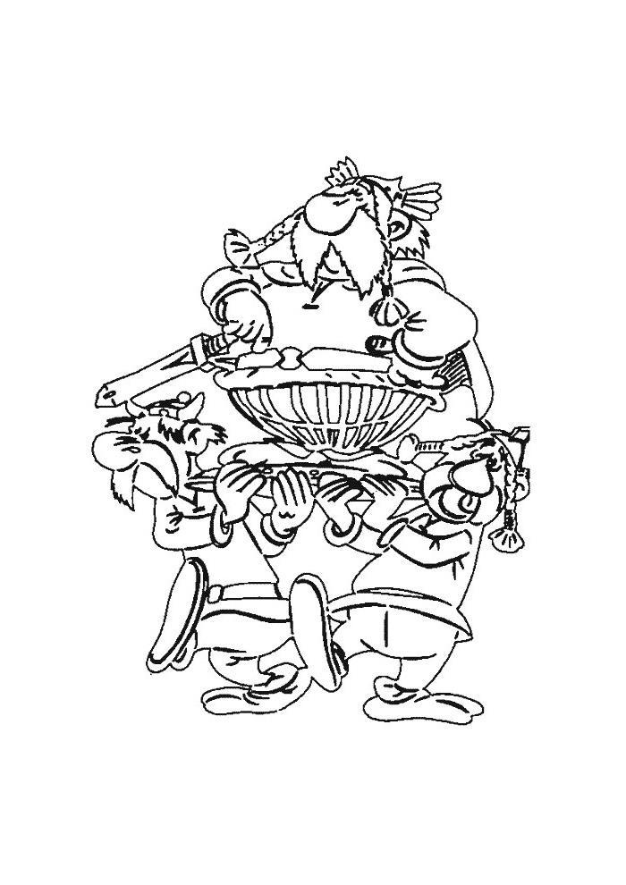 asterix en obelix stamhoofd