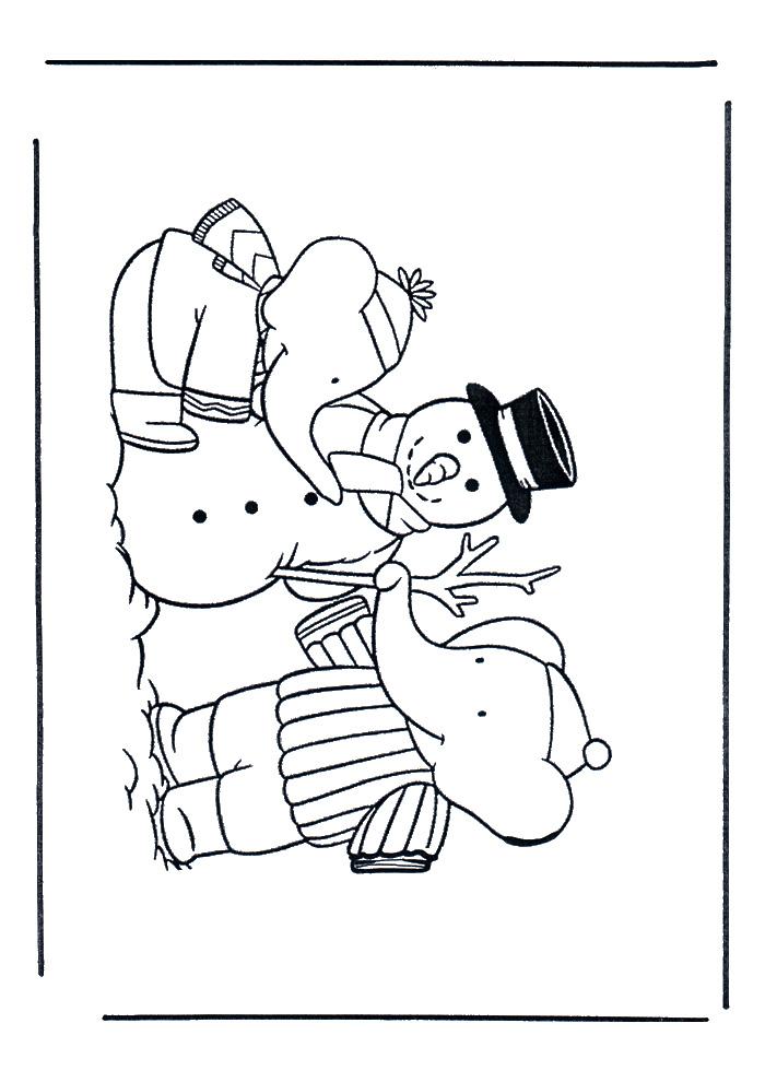 Babar - sneeuwpop