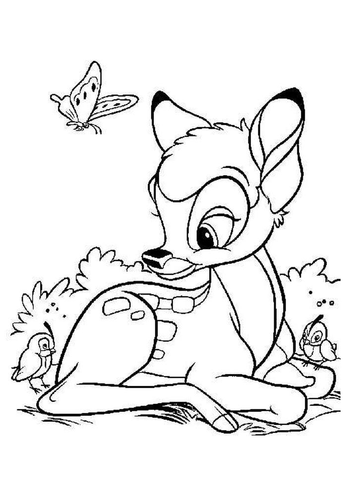Bambi - wat een mooie vlinders