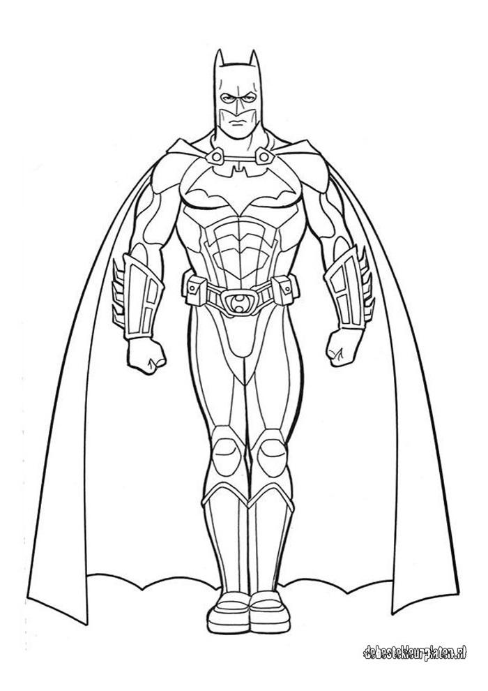 Batman14 Batman Kleurplaten Kleurplaat Com
