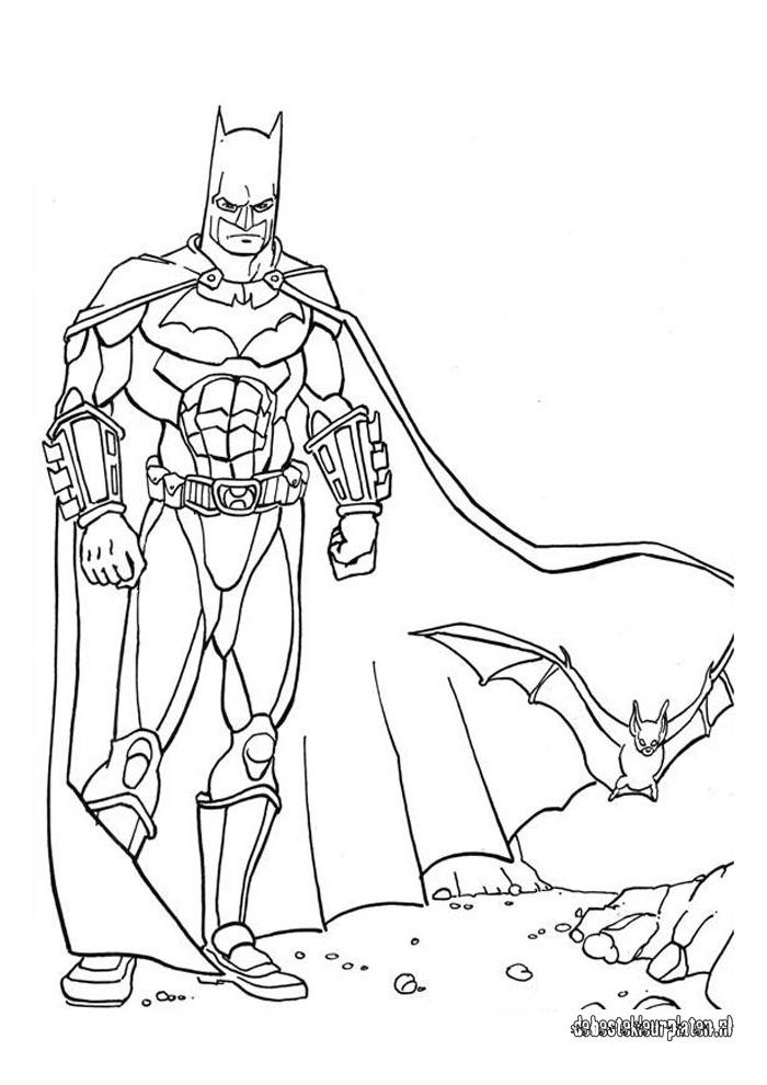 Batman15 1 Batman Kleurplaten Kleurplaat Com
