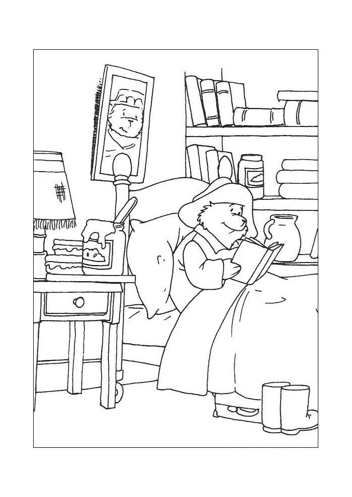 beertje paddington lezen in bed2
