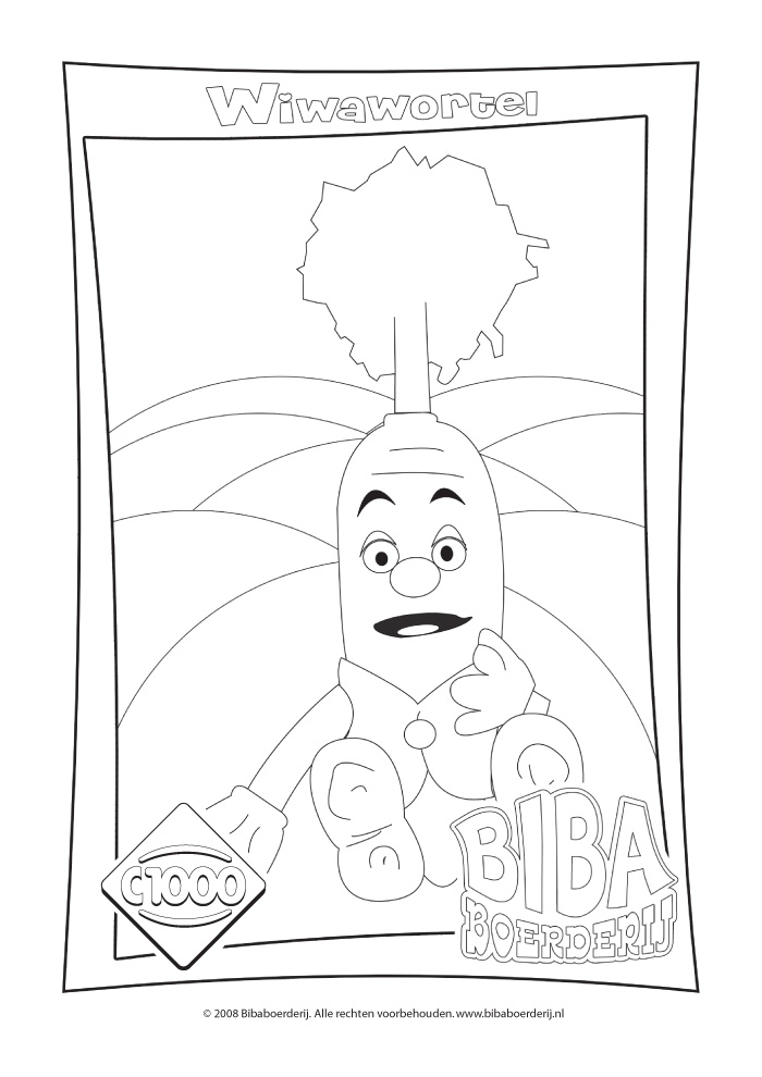 Bibaboerderij - wiwawortel