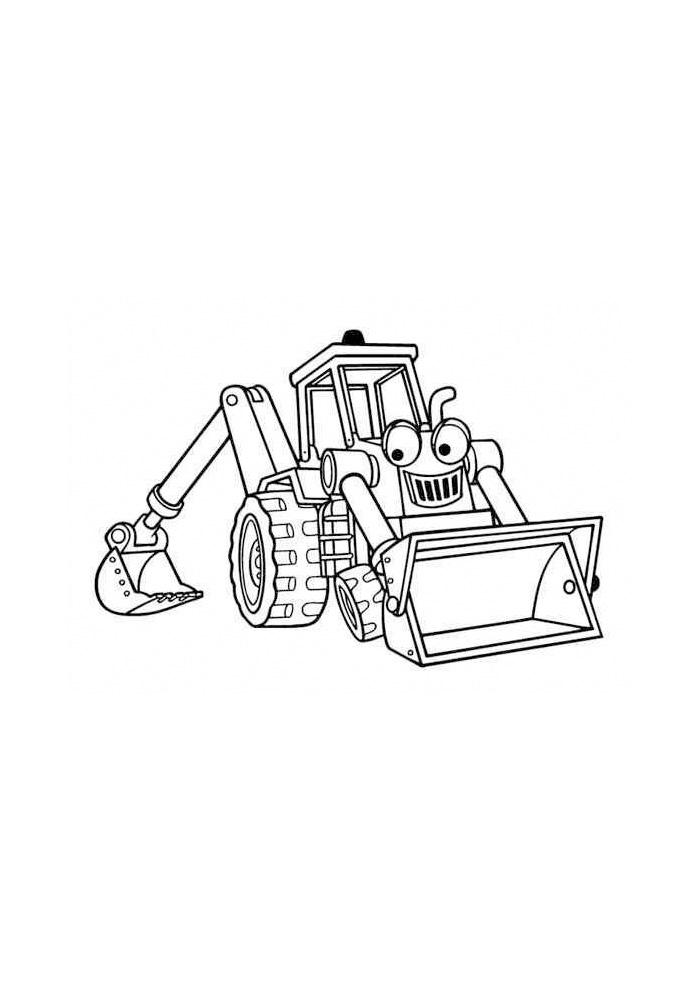 Bob de Bouwer - bulldozer