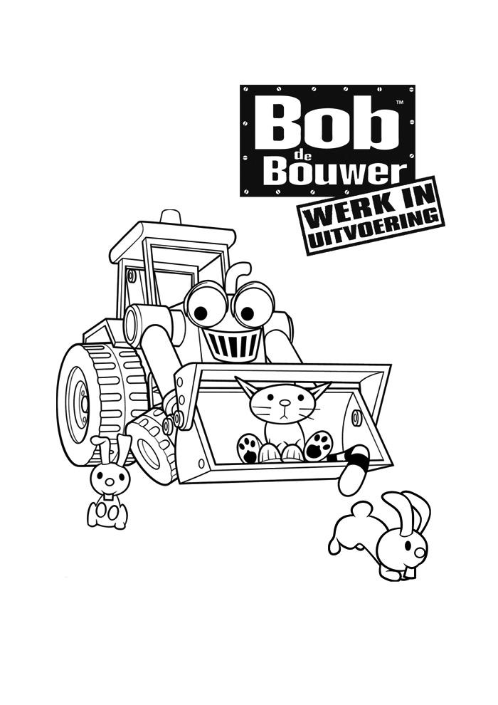 Bob de Bouwer - werk in uitvoering