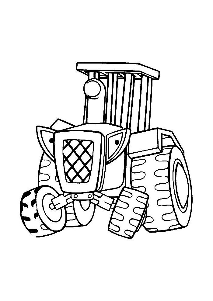 Bob de Bouwer - traktor