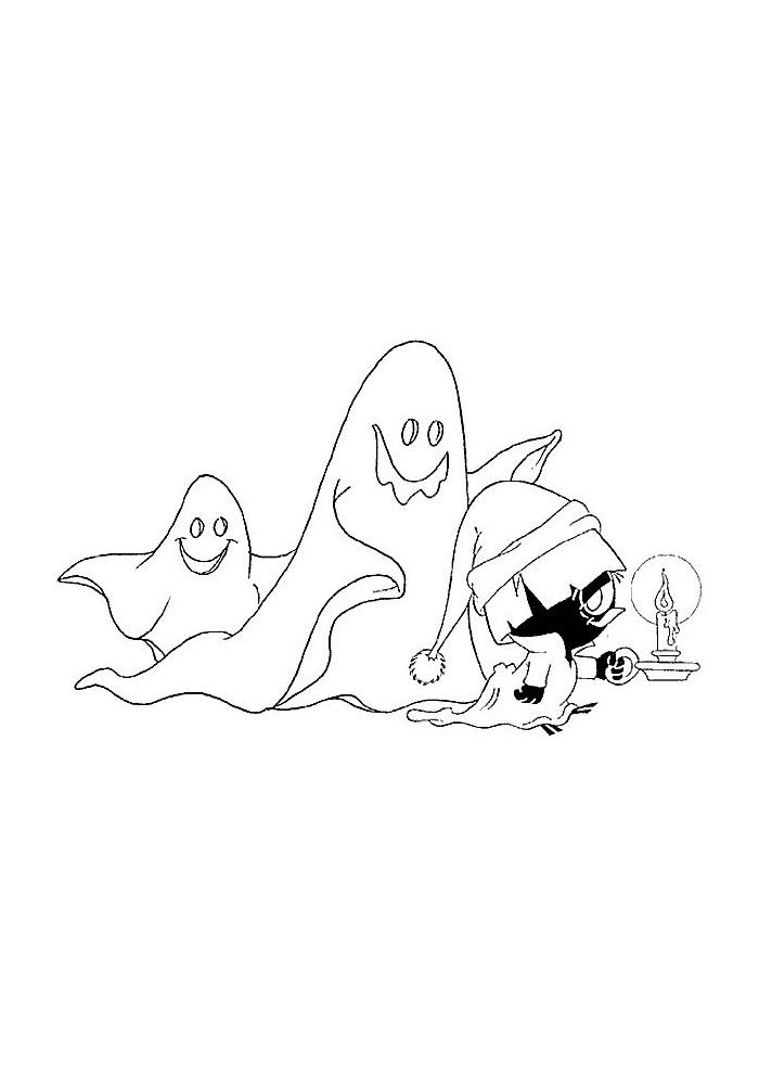 calimero spookjes