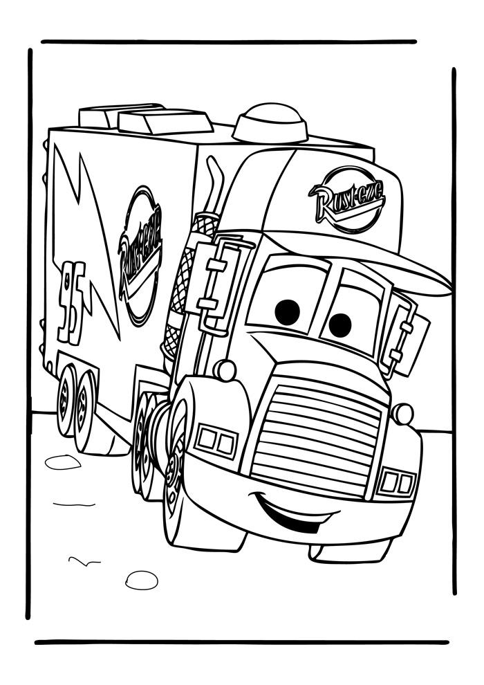 vrachtwagen scania kleurplaten n 32 coloring