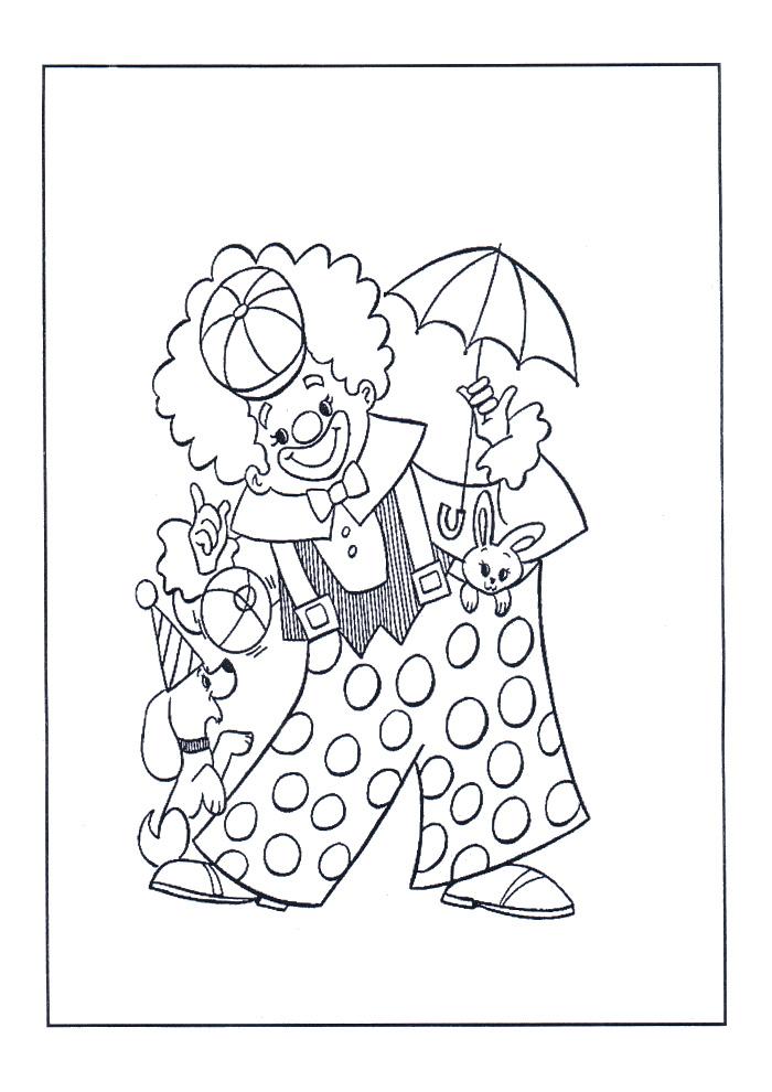 Clown - met hondje