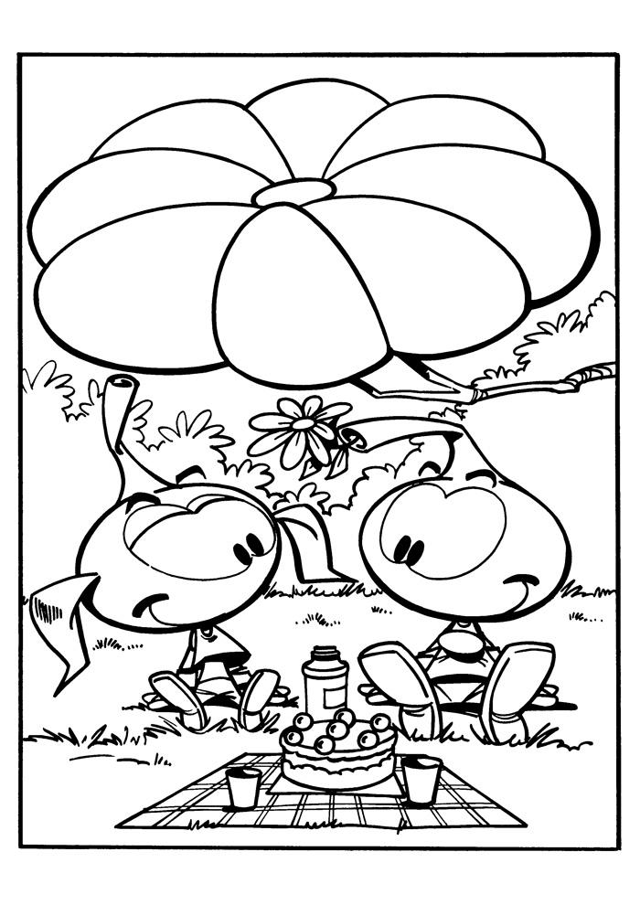 de snorkels picknick
