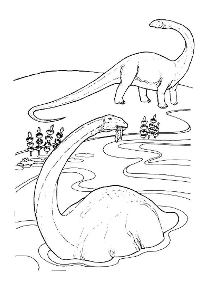 dinosaurus eten