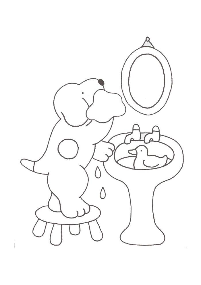 Dribbel - wassen