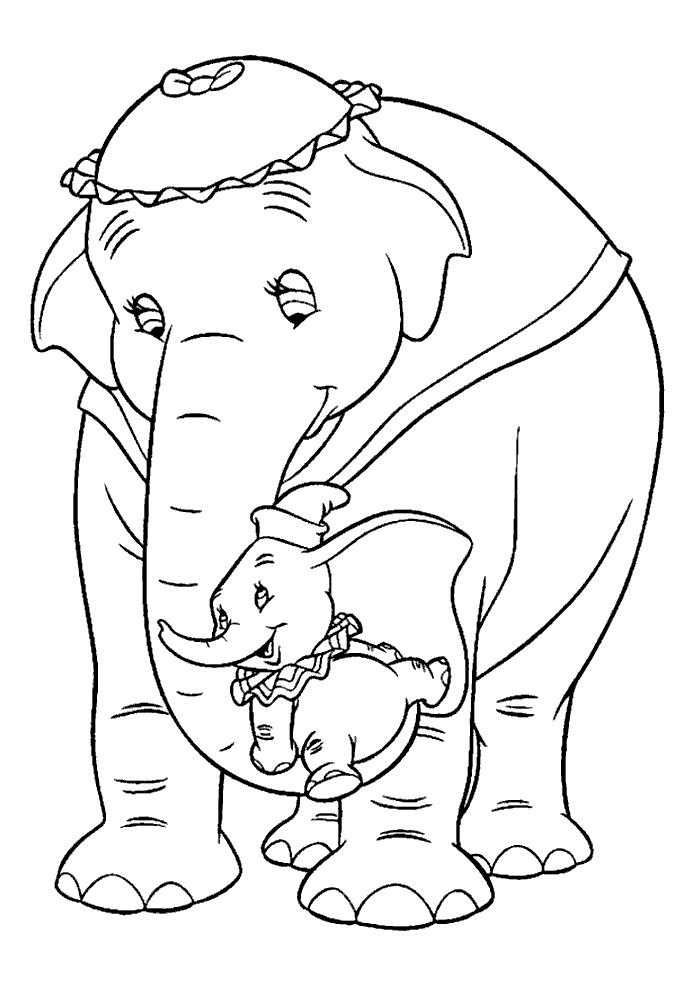 Dumbo - samen met mama