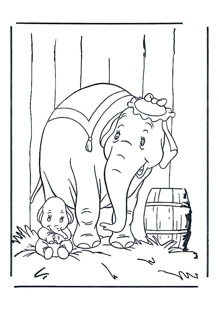 Dumbo - veilig bij mama