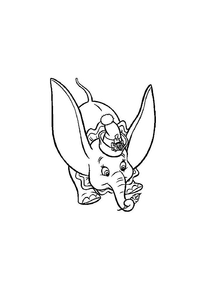 Dumbo - samen met de muis