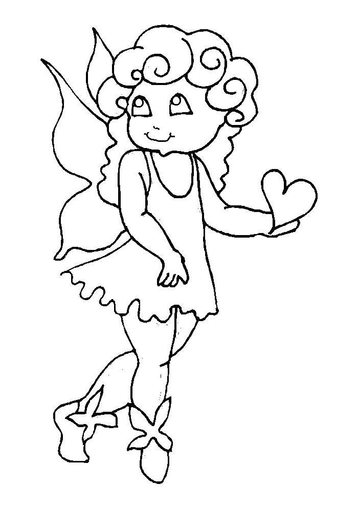 Elfje - elfje met hartje