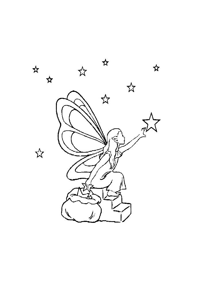 Elfjes - wat een mooie ster