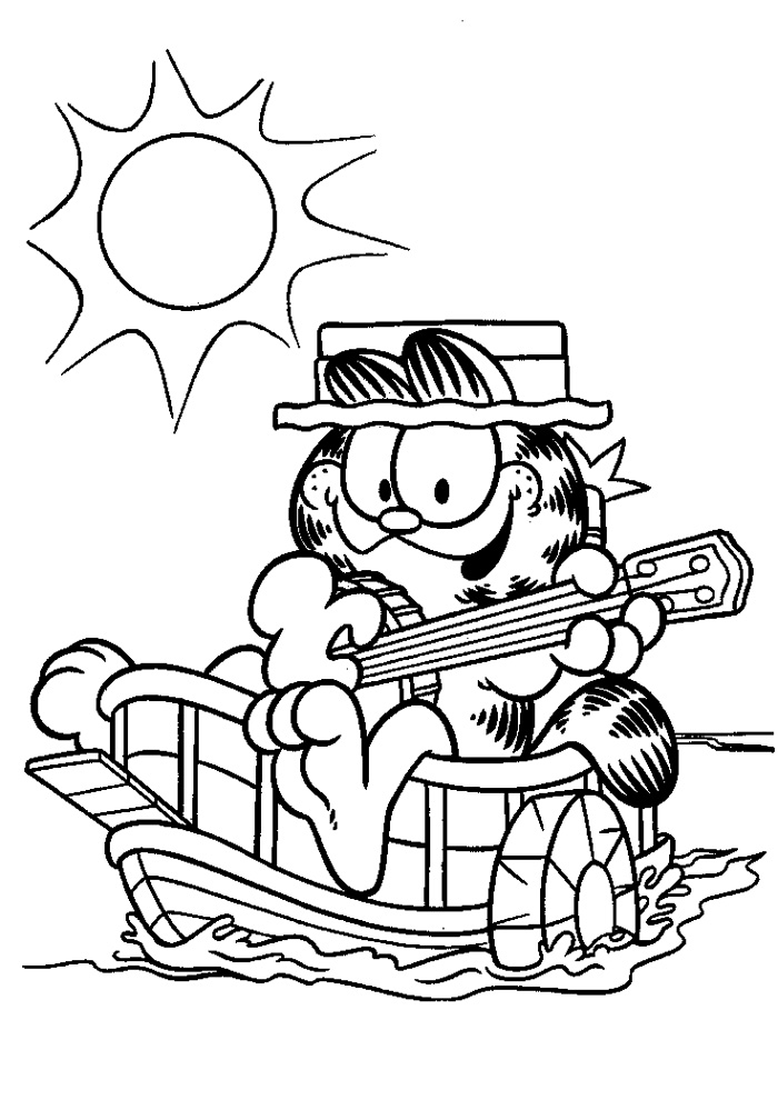 Garfield - gitaar