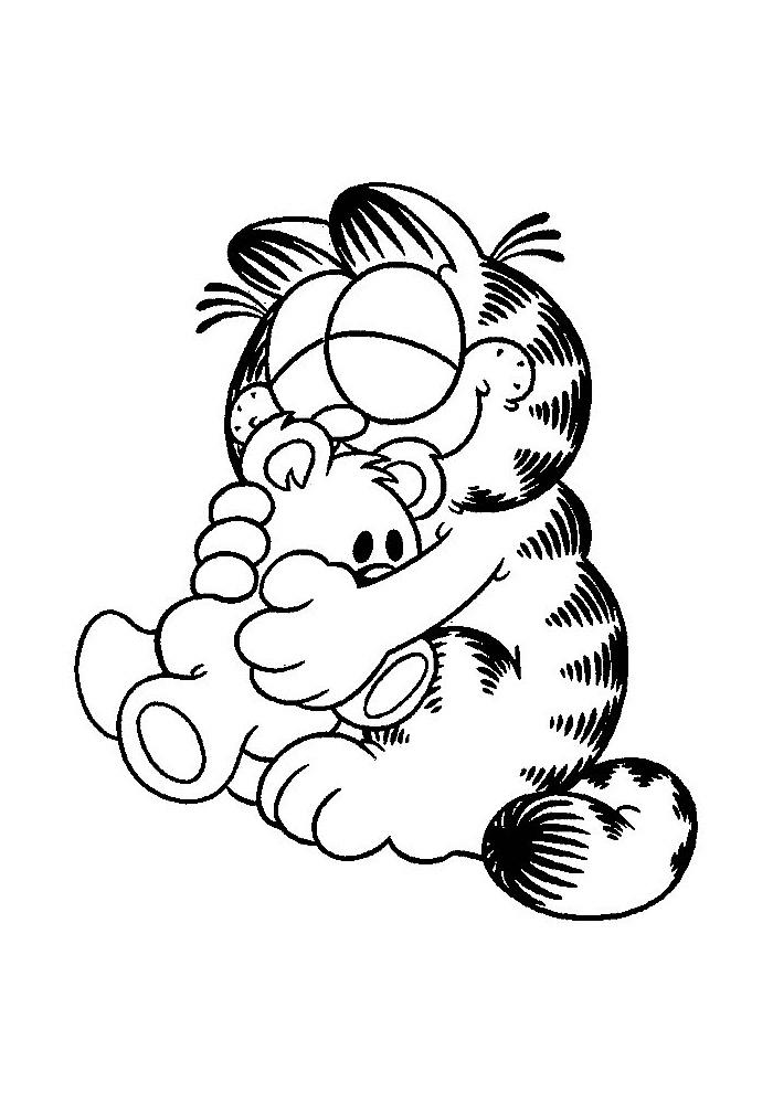 Garfield - lief
