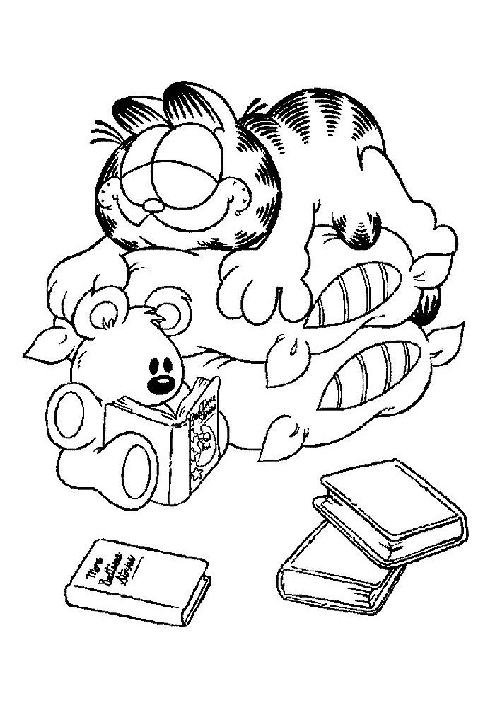 Garfield - slapen