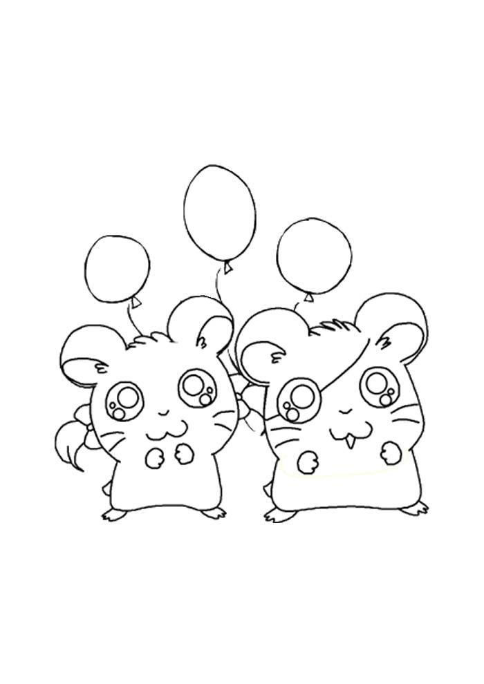 Hamtaro - ballon