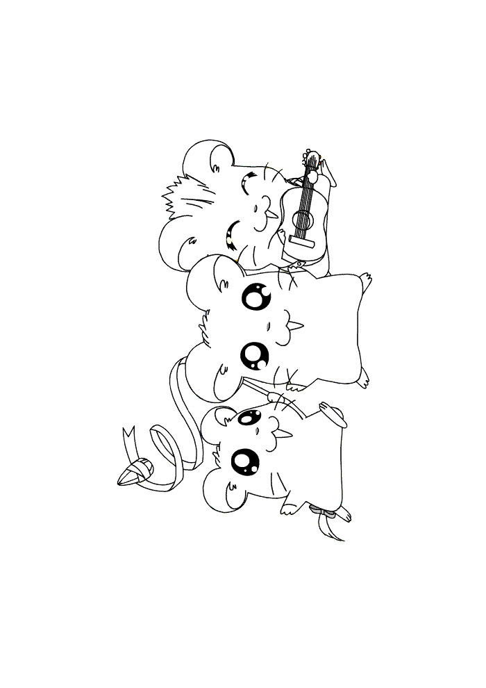 Hamtaro - muziek maken