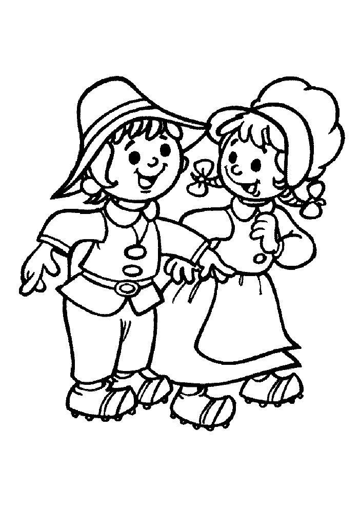 Hans en Grietje - blij