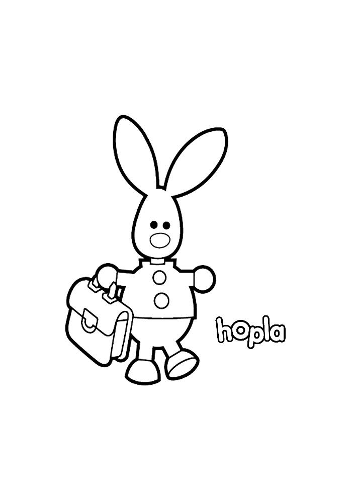 Hopla - naar school