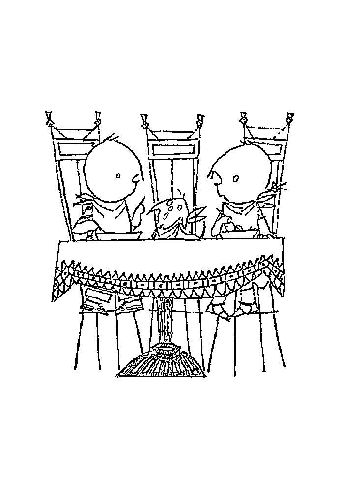 jip en janneke aan tafel