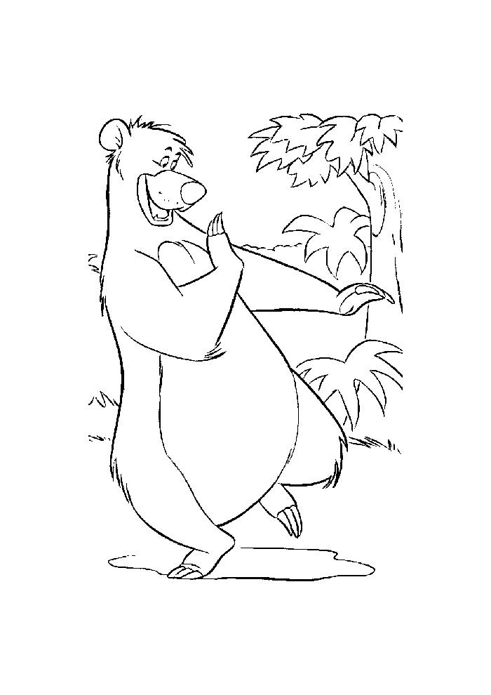 Jungle Book -baloe aan het dansen