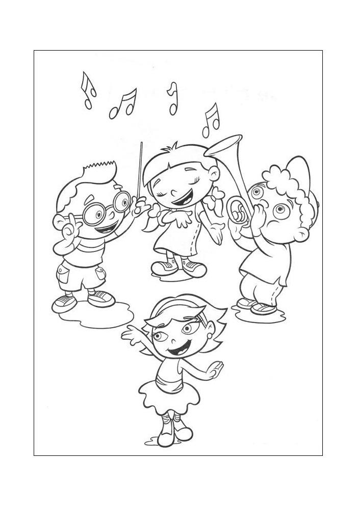 Little Einstein - muziek maken