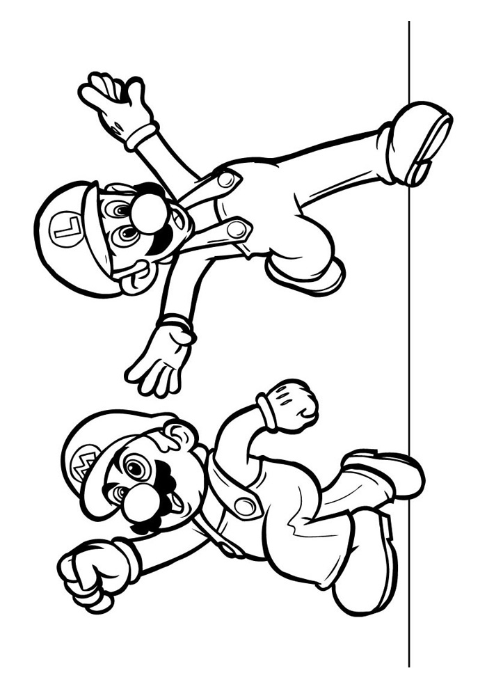Kleurplaten Super Mario 3d Land.Kleurplaat Super Mario 3d World Coloring Pages Mario 3d World