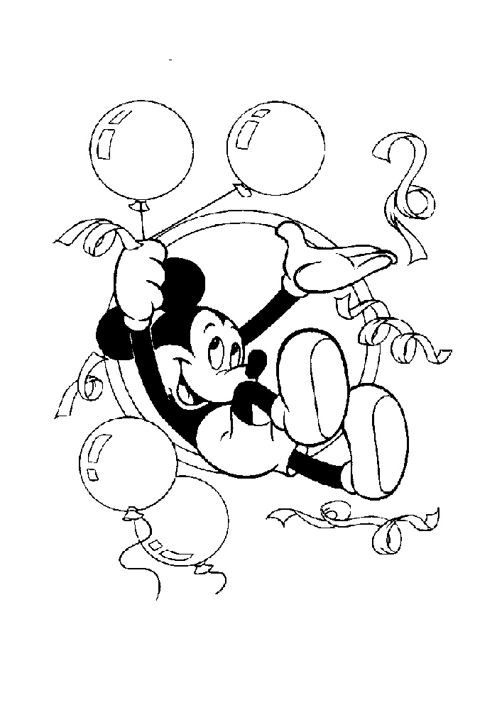Mickey Mouse - ballon