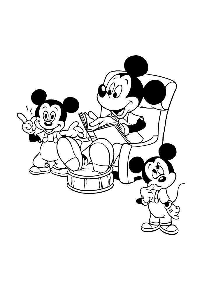 Mickey Mouse - voorlezen