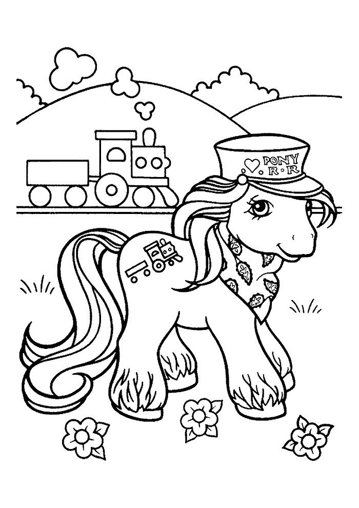 My Little Pony - trein