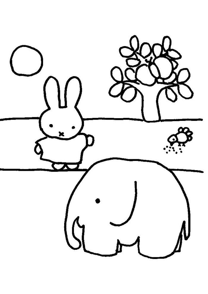 Nijntje - olifant