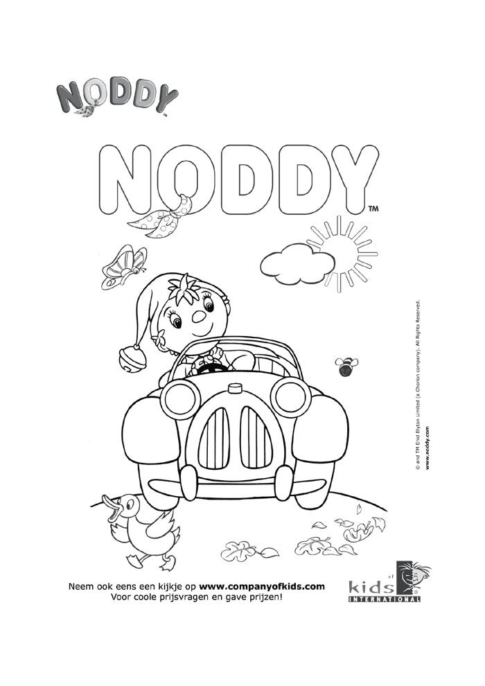 Noddy - achter het stuur