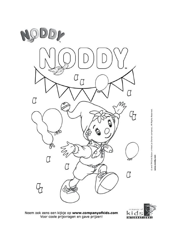 Noddy - feestje