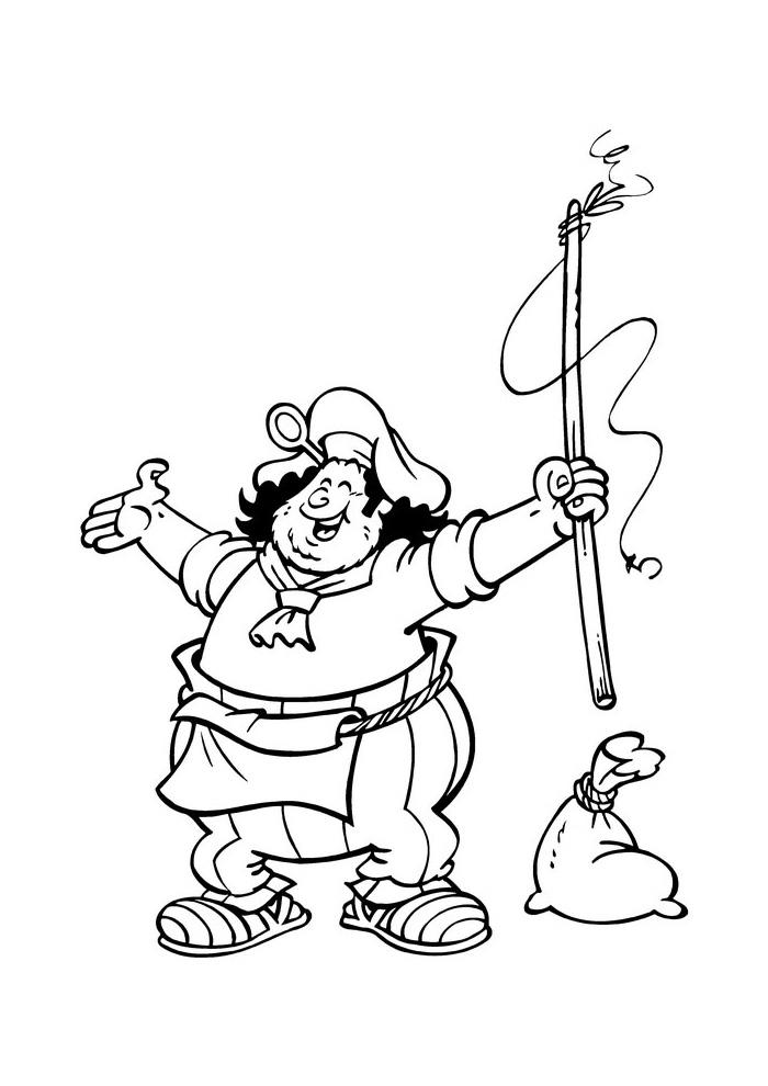 Piet Piraat Piet Piraat Kleurplaten Kleurplaat Com