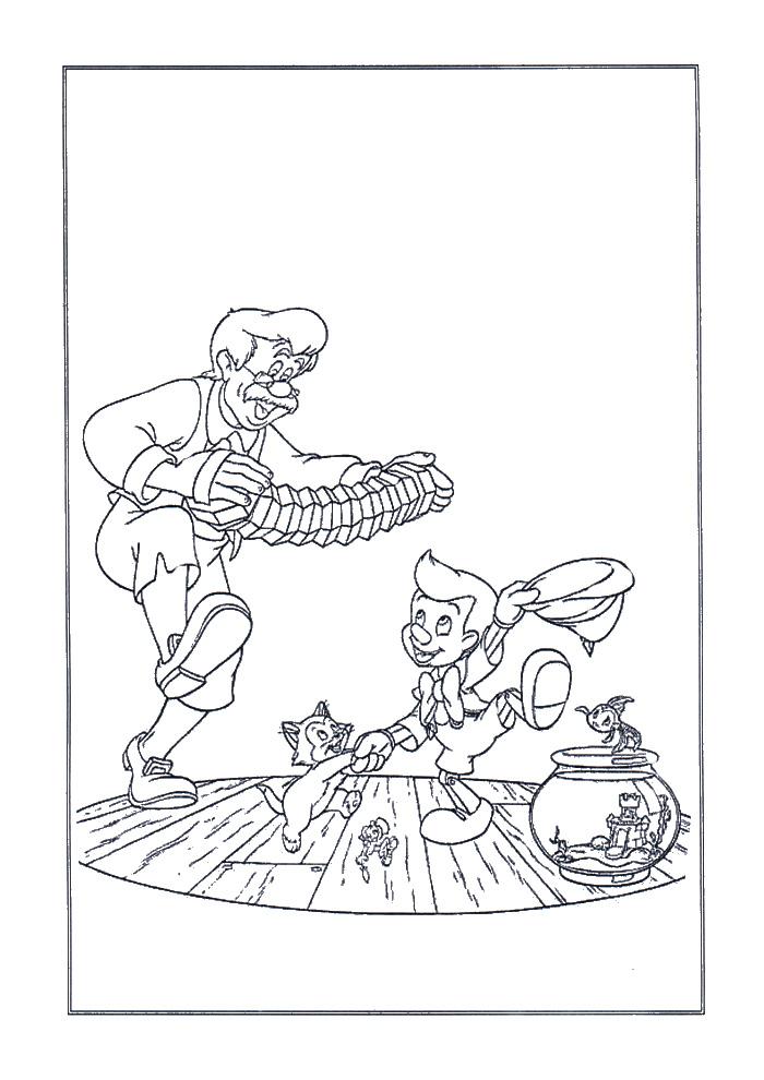 Pinokkio - aan het dansen