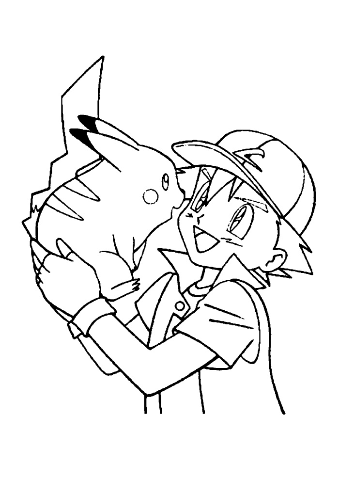 Pokemon - ash en pika